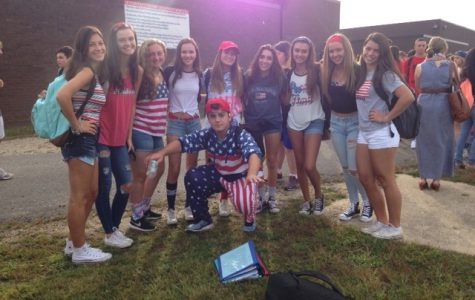 High School West: Spirit Week and Pep Rally 2016