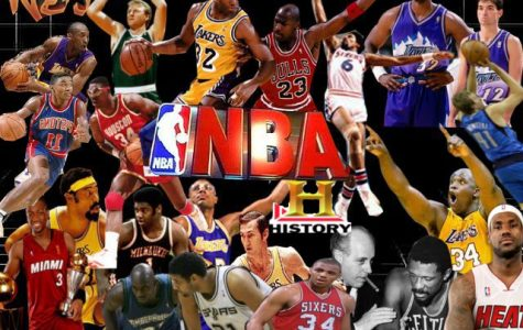 The Twenty Five Greatest Players in NBA History