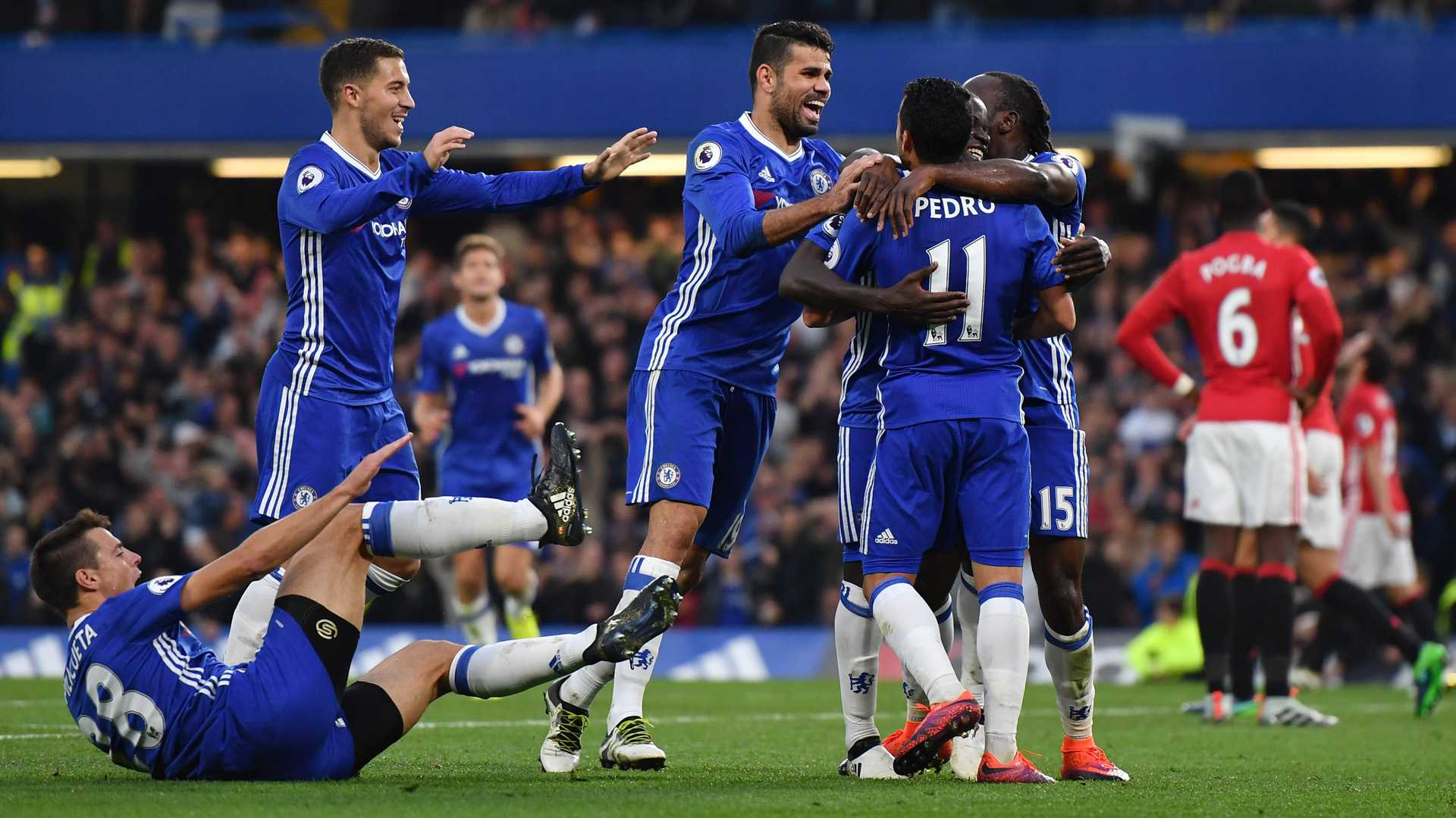 Chelsea Defeats Manchester United 1-0