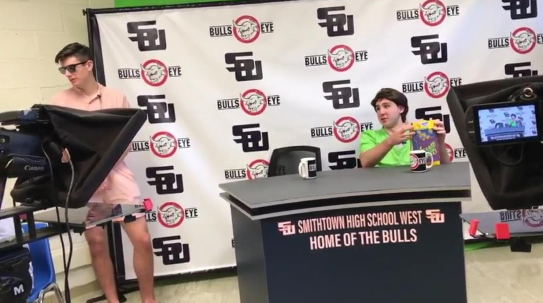 West Bull's Eye – Behind the Scenes