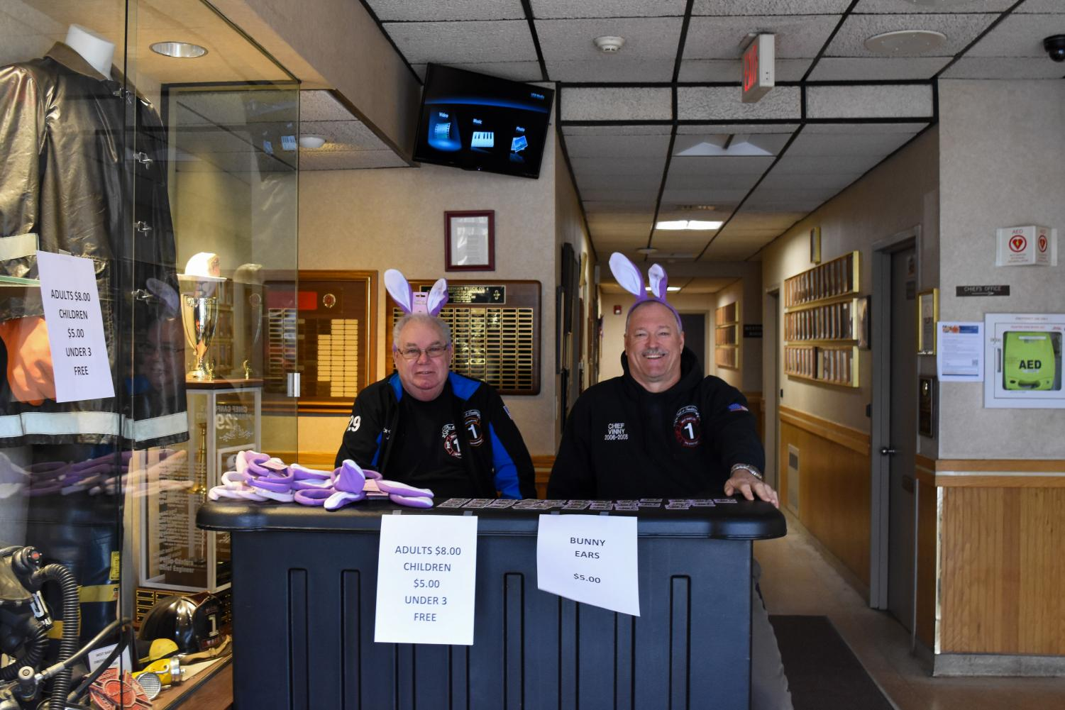 West Babylon Fire Department Annual Breakfast with the Easter Bunny