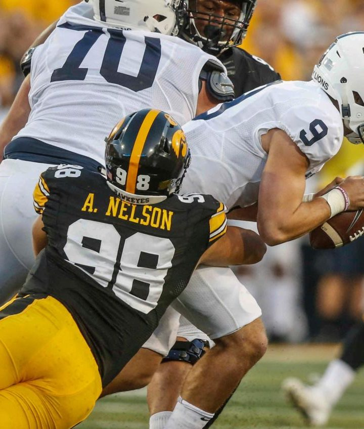 Hawkeyes Move up the Ranks after Win Against Penn State: